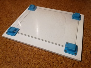 Glass Bed Support