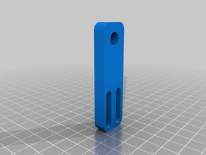 Hictop upper z rail mount adjustable slots.