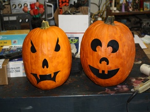Mr. PumpkinHead Easy Peasy Jack-o-Lanterns