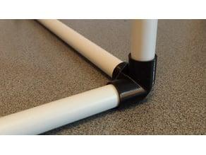 3-way corner for PVC pipe frame