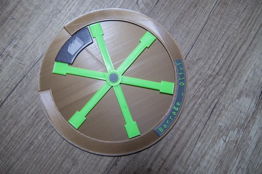 Boardgame Barrage - Wheel