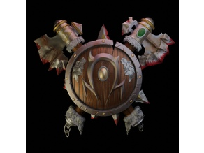 WarCraft3 Horde Shield