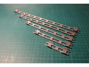 Marble track - rails (Gravitrax compatible)