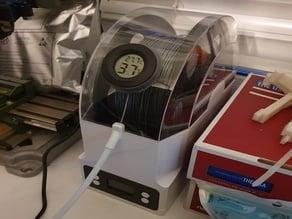 eSUN eBOX filament storage box thermometer hygrometer mount