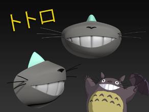 COVID-19 Mask Cap, Totoro Edition