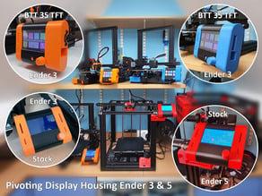 Pivoting Display for Ender 3 - Pro  - V2 - Ender 5 - BTT 35TFT & Stock