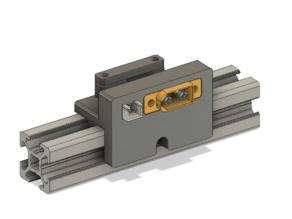Hypercube Evolution (HEVO) - XT60 / JST XH bracket for easy bed change (multi-beds)