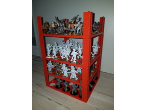 Storage for miniatures, 25mm and 32mm
