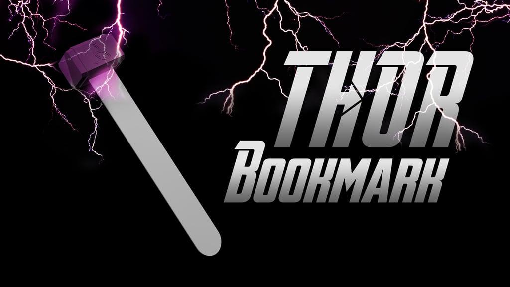 Thor Bookmark