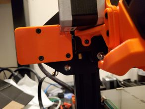 Notched X Axis Limit Switch Cover with Cable Guide