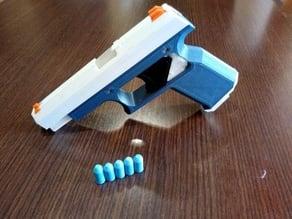 3D Printed Toy Gun