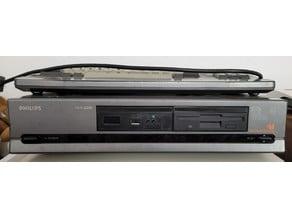 Gap filler for installing Gotek floppy emulator into Philips 82xx MSX2 computers