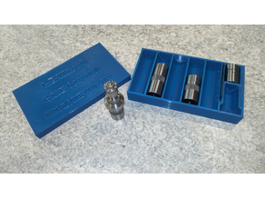 L.E. Wilson Gauge & Micrometer Organizer Box