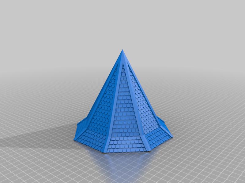 Tejados octogonales NG de media altura
