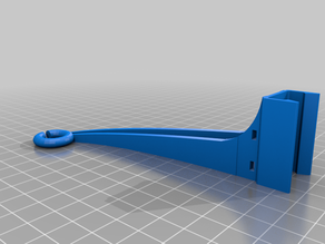 Snap On Filament Guide - Direct Drive - Ender 5