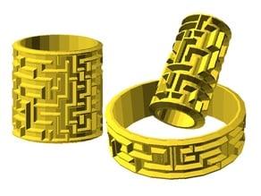 Maze cylinder 3