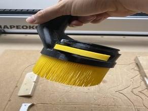"""Bristles for """"Adjustable Height CNC Dust Shoe for DeWalt 611"""""""