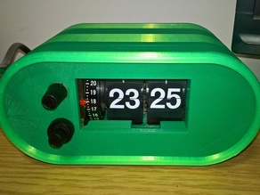 Flip Clock Modular Enclosure