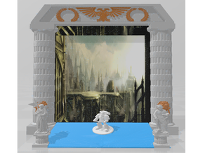Imperial Gate (iPad/Tablet Frame) - WH40k