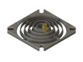 Fan cover reverse funnel (40&50mm)