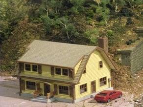 HO Scale The Puritan Home