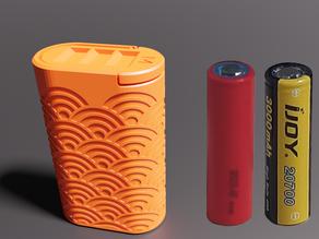 Dual 20700 Snap Fit Case