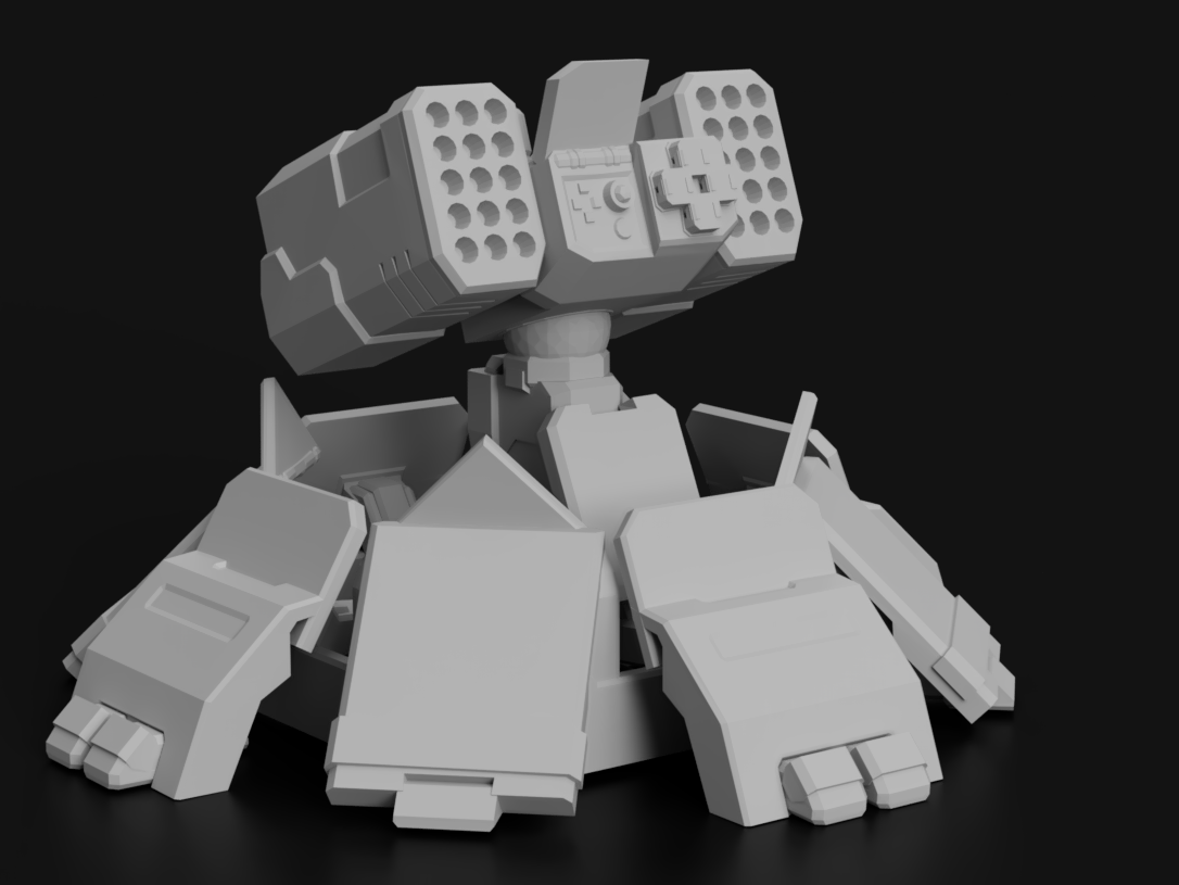 Missile Turret for Battletech
