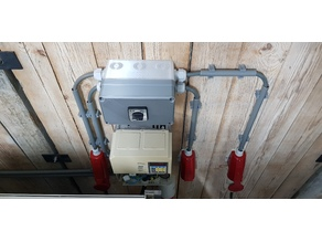 Electronics junction, switch or utility box 110x190x150