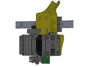 e3d Hermera / Hermes mount Rat Rig V-Core Pro