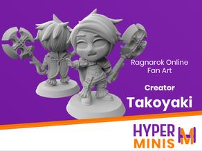 Chibi Creator Takoyaki - Ragnarok Online Fan Art