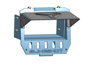 Polaris Slingshot radio mount and visor