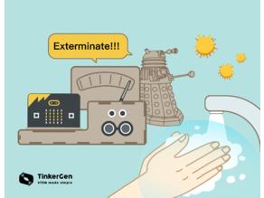 Coronavirus EXTER-MI-NATION With Micro:bit and Daleks