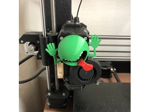 Don't Panic Extruder Rotation Visualizer / refrigerator magnet