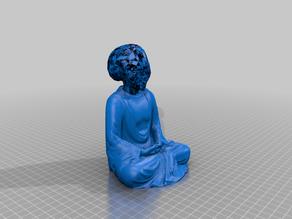 Alien Buddha Statue