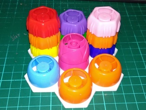 Honeycomb holder covers мosaic