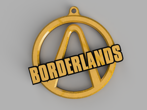 Borderlands Logo Keychain