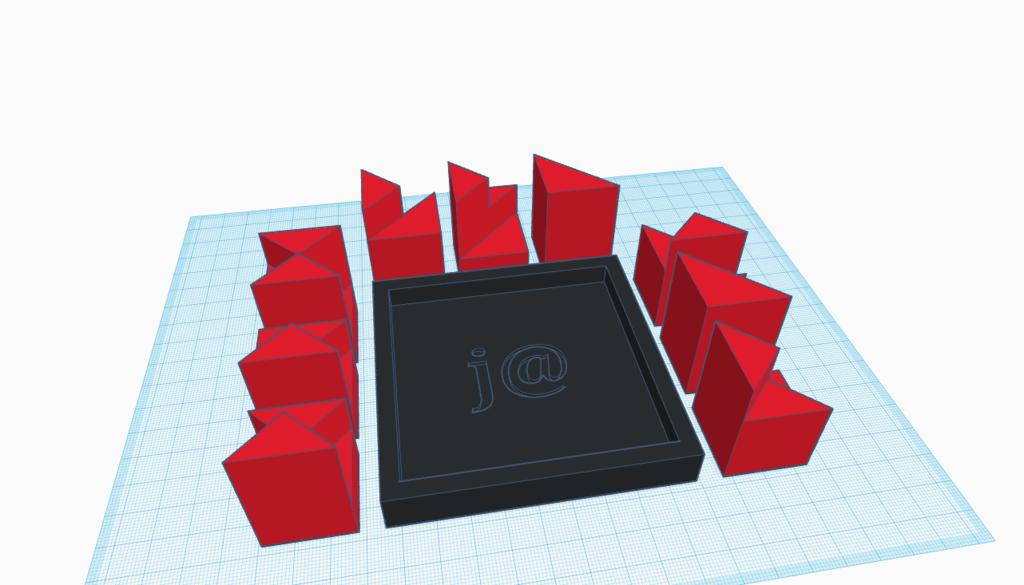 Tetra Nova - Block Puzzle - Easy Print