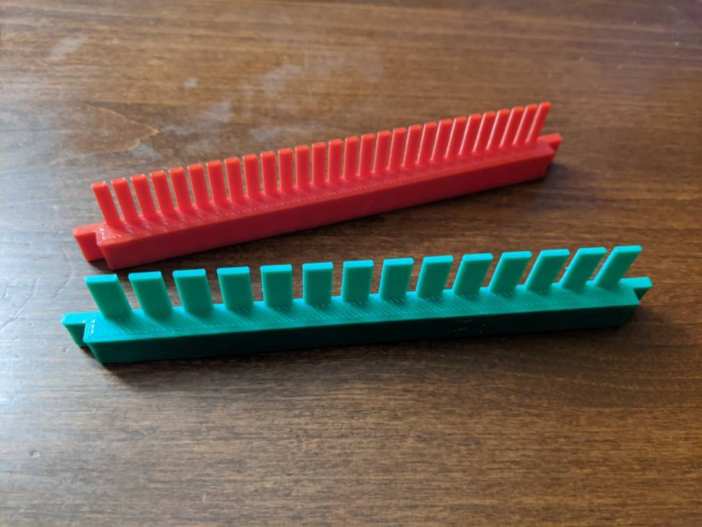 14 & 28 well multichannel combs for FisherBiotech Midi-Horizontal Gel