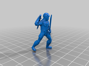 Ancient Dark Combat Trooper