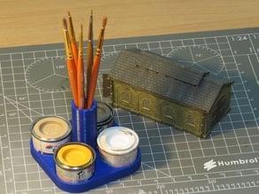 Humbrol Paint Tin Holder