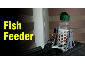 Fish Feeder (Arduino + Servo Motor)