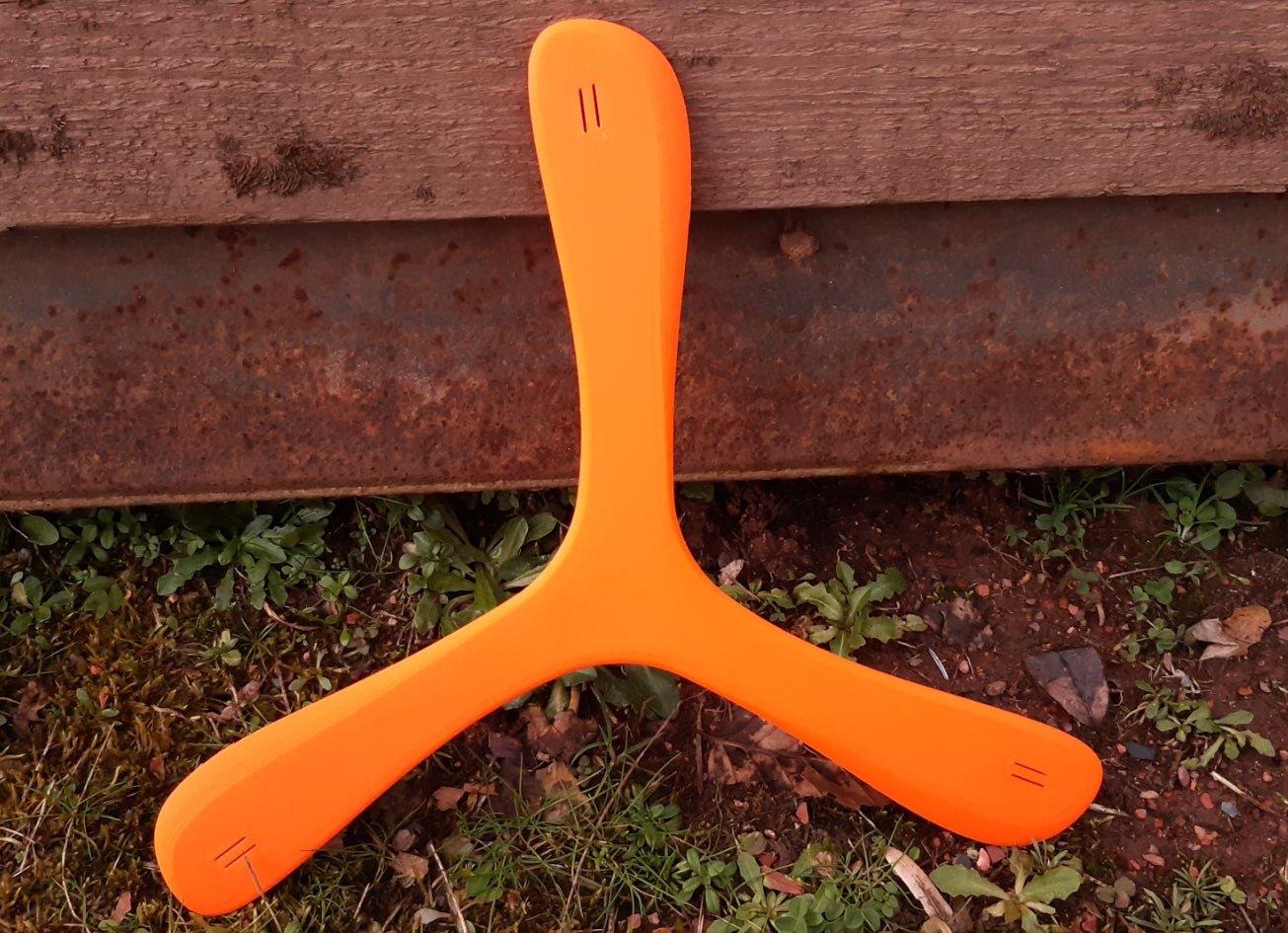 Narrow Vee Shaped Boomerang