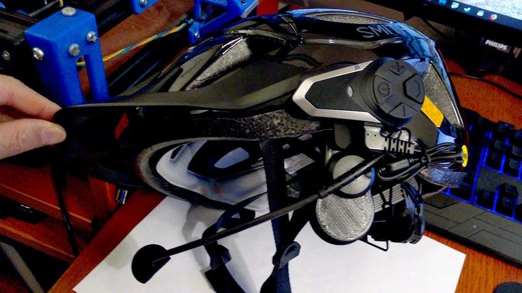 Bicycle Helmet BT-S3 Bluetooth Intercom Mount