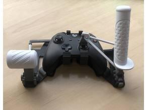 Snap-on XBOX gamepad HOTAS joystick
