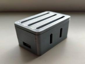 Wemos D1 mini + MH-Z19 CO2 sensor housing