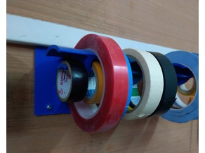Tape Organizer Wall Mounted