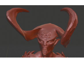 Bloodletter Daemoness (Fixed Head)