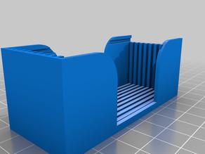 Slide box for 10 microscope slides