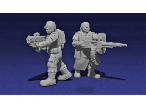 Tech World Gangers/Conscript Infantry