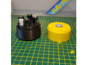 Battery Container - (Battery Shaped)
